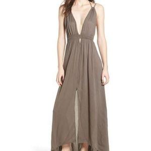 ASTR THE LABEL- Gauze Crinkle maxi dress